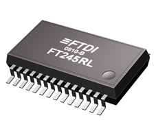 FT245RL - Circuito Integrado conversor USB / FIFO